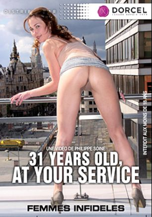 31 Years Old, At Your Service, starring Alexia Fox, Olga Love, Melisa and Philippe Soine, produced by Marc Dorcel and Marc Dorcel SBO.