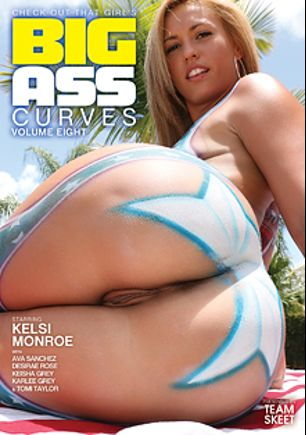 Big Ass Curves 8, starring Desirae Rose, Karlee Grey, Keisha Grey, Kelsi Monroe, Ava Sanchez, Peter Green, Tomi Taylor, Bradley Remington, Mirko Steel, Bruno Dickems and Tommy Gunn, produced by Team Skeet.