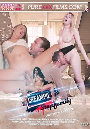 "Featured Category - International presents the adult entertainment movie ""Creampie Step Family""."