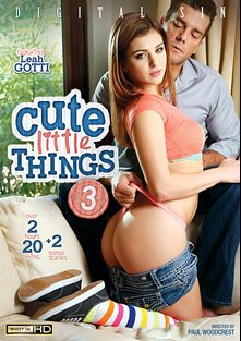 Cute Little Things 3, starring Leah Gotti, Alex Grey, Joseline Kelly, Bella Rose, JMac, Chad White and Ramon Nomar, produced by Digital Sin.