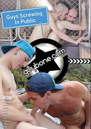 Guys Screwing In Public, starring Greyson Kent, Trent Matthews, Jameson Midas, Zeke Johnson, Sam Bridle, Scotland Grey, Rheo Stone, Rob Benson, Owen Daniels and Lance Bennett, produced by Guy Bone.