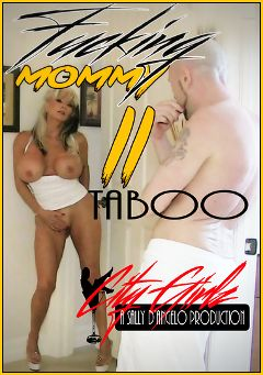 "Adult entertainment movie ""Fucking Mommy 2"" starring Sally D'Angelo. Produced by Sally D'Angelo."