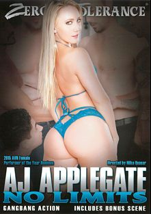 AJ Applegate No Limits, starring A.J. Applegate, Small Hands, Brad Knight, Kleio Valentien, Richie's Brain, Tommy Pistol, Will Powers, Anthony Rosano and Tommy Gunn, produced by Zero Tolerance.
