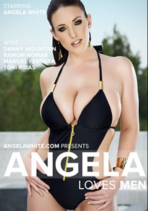 Angela Loves Men, starring Angela White, Ramon Nomar, Manuel Ferrara, Danny Mountain and Toni Ribas, produced by Angela White.