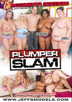 Plumper Slam, starring Ms. Ling Ling, Marliese Morgan, Erin Green, Jade Rose and Eric John, produced by Plumper Nation.