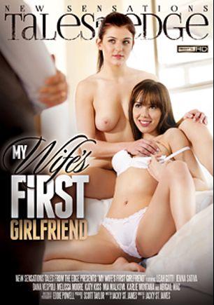 My Wife's First Girlfriend, starring Katy Kiss, Leah Gotti, Melissa Moore, Jenna Sativa, Abigail Mac, Mia Malkova, Karlie Montana and Dana Vespoli, produced by New Sensations.