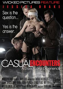 Casual Encounters, starring Jessica Drake, Olivia Austin, Romi Rain, Marcus London, Derrick Pierce, Mr. Pete, Steven St. Croix and Eric Masterson, produced by Wicked Pictures.