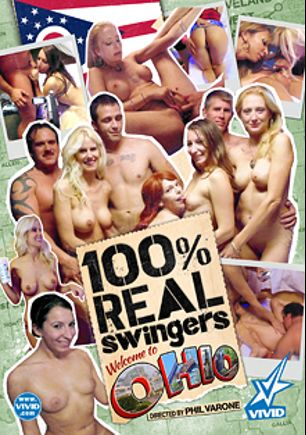 100 Percent Real Swingers: Ohio, starring Avianna, Sydney, Sandy, Morgan Ray and Christy Canyon, produced by Vivid Entertainment.