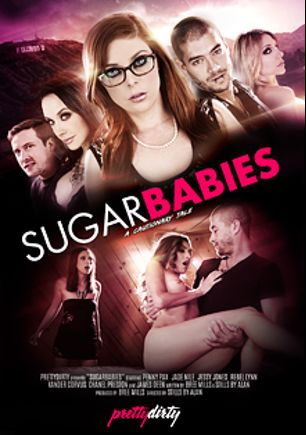 Sugarbabies, starring Penny Pax, Rebel Lynn, Jaclyn Taylor, Jade Nile, Jessy Jones, Xander Corvus, Chanel Preston and James Deen, produced by Pretty Dirty.
