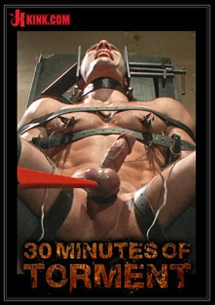 30 Minutes Of Torment: Cameron Kincade's Excruciating Ass Challenge, starring Cameron Kincade, produced by KinkMen.