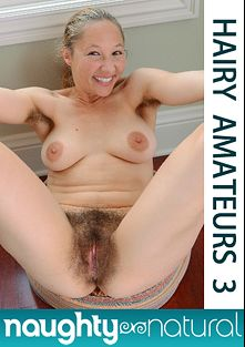 Hairy Amateurs 3, starring Maggie Mayhem, Aiden Rose, Emerald Lee, Amarna Miller, Kara D., Lilah, Ava and Ana, produced by Naughty Natural.