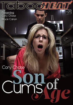 Cory Chase In Son Cums Of Age, starring Cory Chase and Bruce Canon, produced by Taboo Heat.