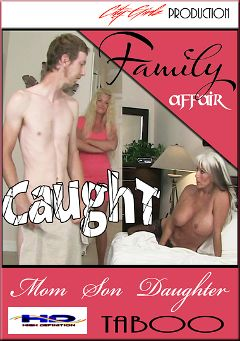 "Adult entertainment movie ""Family Affair"" starring Sally D'Angelo. Produced by City Girlz."