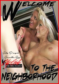 "Adult entertainment movie ""Welcome To The Neighborhood"" starring Sally D'Angelo & Samantha Rae. Produced by City Girlz."