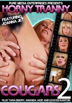 Horny Tranny Cougars 2, starring Joanna Jet, Lexxxis Kanyon, Tara Emory, Jade (o), Christian XXX and Amanda (o), produced by CX WOW Production.