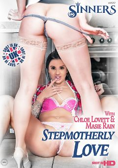 "Adult entertainment movie ""Stepmotherly Love"" starring Masie Rain, Chloe Lovette & Carmel Cox. Produced by UK Sinners."