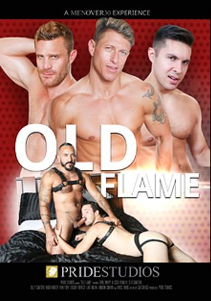 Old Flame, starring Seth Santoro, Alessio Romero, Hugh Hunter, Rikk York, Billy Santoro, Isaac Hardy and Landon Conrad, produced by Pride Studios and Men Over 30.
