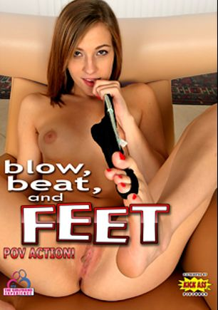 Blow, Beat, And Feet, starring Molly Manson, Cece Capella, Megan Sage, Piper Perri and Sydney Cole, produced by Kick Ass Pictures.
