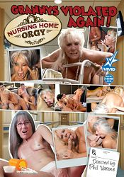 Straight Adult Movie Nursing Home Orgy: Granny's Violated Again
