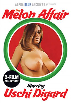 Uschi Digard 2-Film Collection: The Melon Affair, starring Uschi Digard, produced by Alpha Blue Archives.