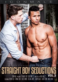 Straight Boy Seductions 3, starring Devon Felix, Roman Todd, Asher Devin, Killian James, Vadim Black, Billie Ramos and Nick Capra, produced by Iconmale and Mile High Media.