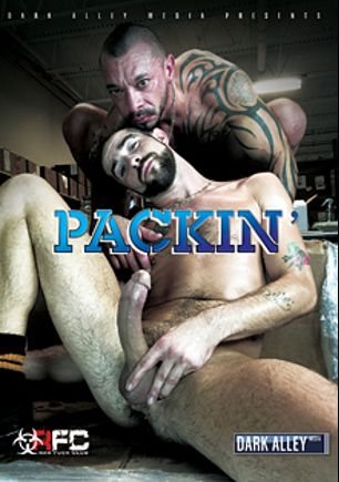 Packin', starring Rafael Carreras, Owen Hawk, Eddie Kordova, Dek Reckless, Peter Fulton, Matt Stevens, Brett Bradley, Sean Duran, Vic Rocco, Jon Galt and Mario Cruz, produced by Raw Fuck Club and Dark Alley Media.