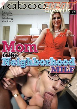 Straight Adult Movie Cory Chase In Mom Is The Neighborhood MILF - front box cover