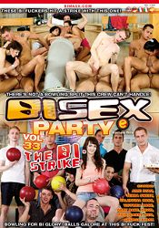 Gay Adult Movie Bi Sex Party 33: The Bi Strike