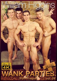 Wank Parties Plus From Prague 24, starring Erik Drda, Mirek Belan, Martin Dorcak and Rosta Benecky, produced by William Higgins.