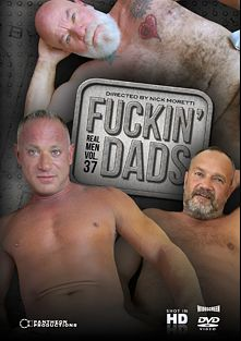 Real Men 37: Fuckin' Dads, starring Mitch Roberts, Christian Matthews, Ray Dalton, Jon Piston, Peter Fulton, Billy Warren, Thor Llanura, Jack Sullivan, Ethan Palmer and Noah Post, produced by Pantheon Productions.