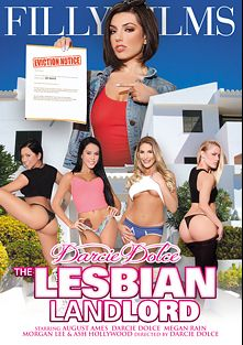Darcie Dolce The Lesbian Landlord, starring Darcie Dolce, Megan Rain, August Ames, Morgan Lee and Ash Hollywood, produced by Filly Films.