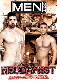 Men In Budapest, starring Andrew Stark, Michael Troy, Jeffrey Branson, Mickes Rhodes and Claudio Antonelli, produced by Men.