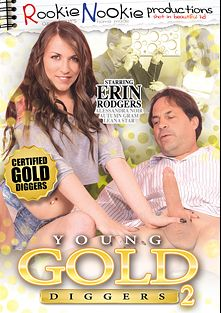 Young Gold Diggers 2, starring Autumn Gram, Erin Rodgers, Alessandra Noir, Eric John and Leana Starck, produced by Rookie Nookie.