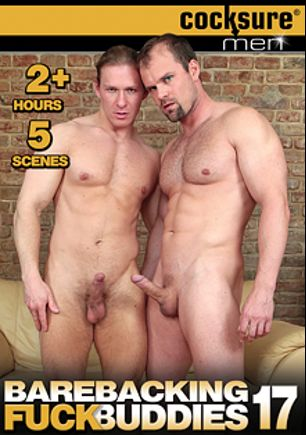 Barebacking Fuck Buddies 17, starring Mattias Solich, David Kadera, Jirka Mendez, Alex Back, Vlado Tomek, Ivan Mraz, Dick Casey, Zane Reynolds, Robin Few and Rusty Stevenson, produced by Jake Cruise Media and Cocksure Men.