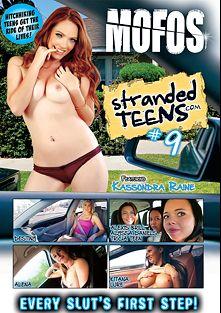 Stranded Teens 9, starring Kassondra Raine, Alyssa Daniels, Kitana Lure, Tricia Teen, Alexis Brill, Alena, Destiny and Thomas Stone, produced by MOFOS.