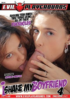"Adult entertainment movie ""I Share My Boyfriend 4"" starring Caroline Sweet & Mary Dee. Produced by Evil Playgrounds."