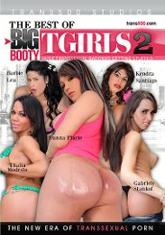 "Featured Category - Interracial presents the adult entertainment movie ""The Best Of Big Booty Tgirls 2""."