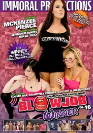 "Just Added presents the adult entertainment movie ""Blowjob Winner 16""."