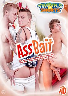 Ass Bait, starring Town Uli, Thomas Fiaty, Denis Reed, Tommy Hunter, Roco North, Joshua Levy, Sam Williams, Chris Conners and Max Born, produced by Twinks In Shorts.