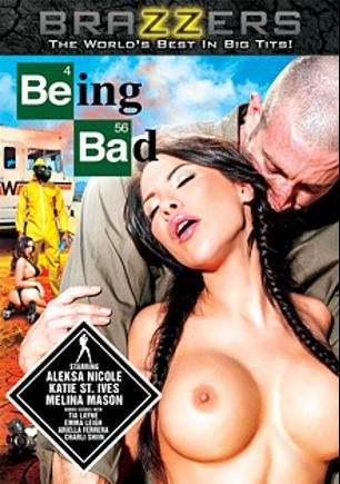 Being Bad, starring Aleksa Nichole, Richie Black (m), Tessa Thrills, Charli Shiin, Melina Mason, Tia Layne, Ariella Ferrera, Katie St. Ives and Jordan Ash, produced by Brazzers.