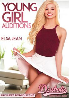 Young Girl Auditions, starring Elsa Jean, Eliza Jane, Sabrina Rey, Katy Kiss, Tommy Pistol, Marcus London, Tommy Gunn and Mark Wood, produced by Diabolic Digital.