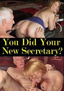 You Did Your New Secretary, starring Josie Pesci and Carl Hubay, produced by Hot Clits Video.