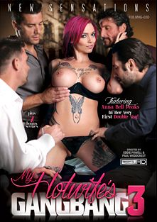 My Hotwife's Gangbang 3, starring Anna Bell Peaks, Rachael Madori, Tommy Pistol, Tommy Gunn, Ramon Nomar, Mr. Pete and Toni Ribas, produced by New Sensations.