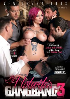 "Adult entertainment movie ""My Hotwife's Gangbang 3"" starring Anna Bell Peaks, Rachael Madori & Tommy Pistol. Produced by New Sensations."