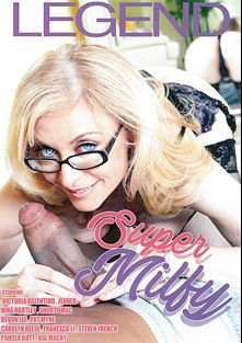 Super Milfy, starring Victoria Valentino, Pamela Butt, Carolyn Reese, Devon Lee and Nina Hartley, produced by Legend.