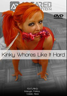 Kinky Whores Like It Hard, starring Makayla Cox, Patricia Petite, Cassie and Alexa, produced by Alfa Red.