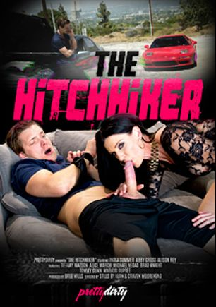 The Hitchhiker, starring India Summer, Tiffany Watson, Brad Knight, Alison Rey, Alice March, Abby Cross, Markus Tynai, Michael Vegas and Tommy Gunn, produced by Pretty Dirty.