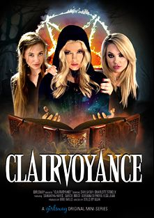 Clairvoyance, starring Dahlia Sky, Charlotte Stokely, Darcie Dolce, Elsa Jean, Samantha Hayes and Adriana Sephora, produced by Girlsway.