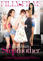 """Just Added presents the adult entertainment movie """"Evil Lesbian Stepmother""""."""