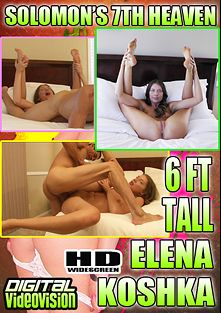 Solomon's 7th Heaven: 6ft Tall Elena Koshka, starring Elena Koshka and David Solomon, produced by Digital Videovision.